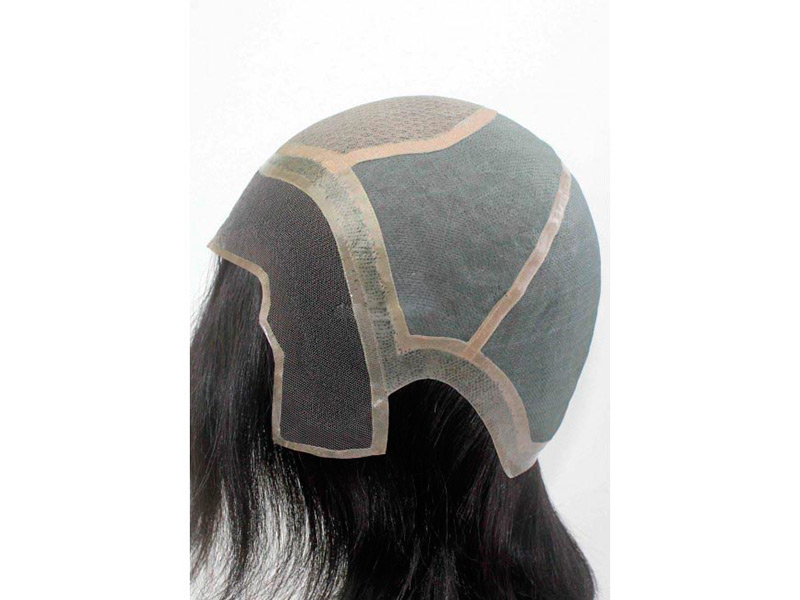 накладка из натуральных волос