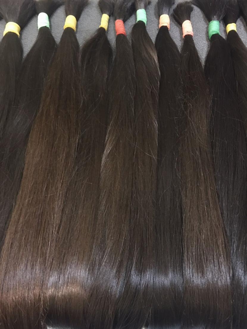 Натуральные волосы славянка прямые неокрашенные 61-70 см