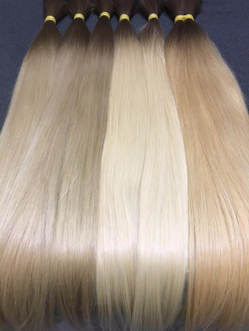 Волосы славянские омбре в длине 70-80 см