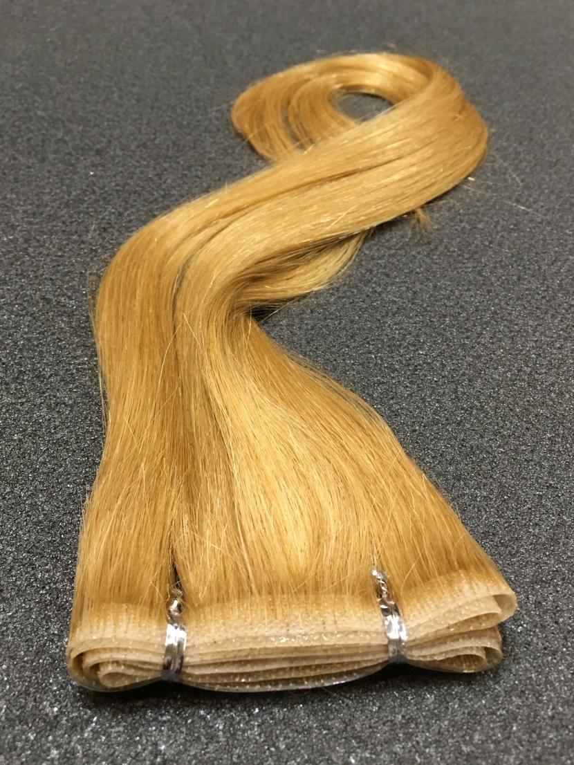 Волосы для ленточного наращивания золотистое шампанское