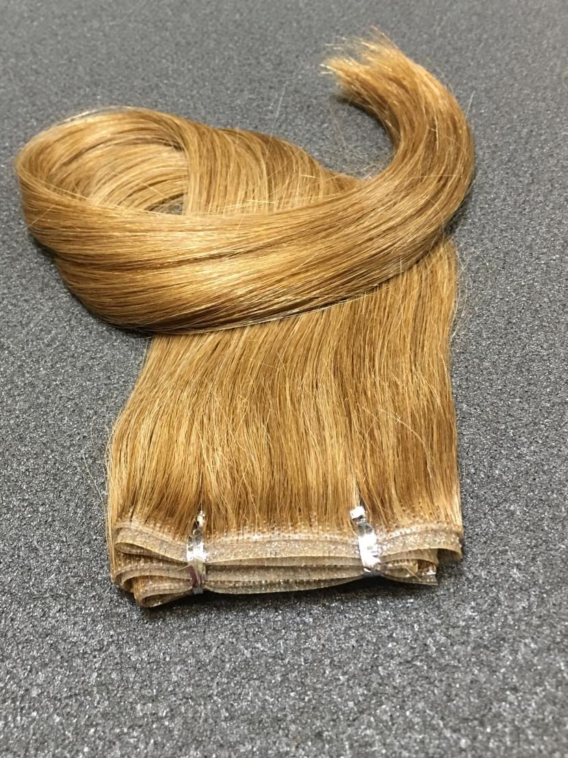 Волосы для ленточного наращивания орехово-русые