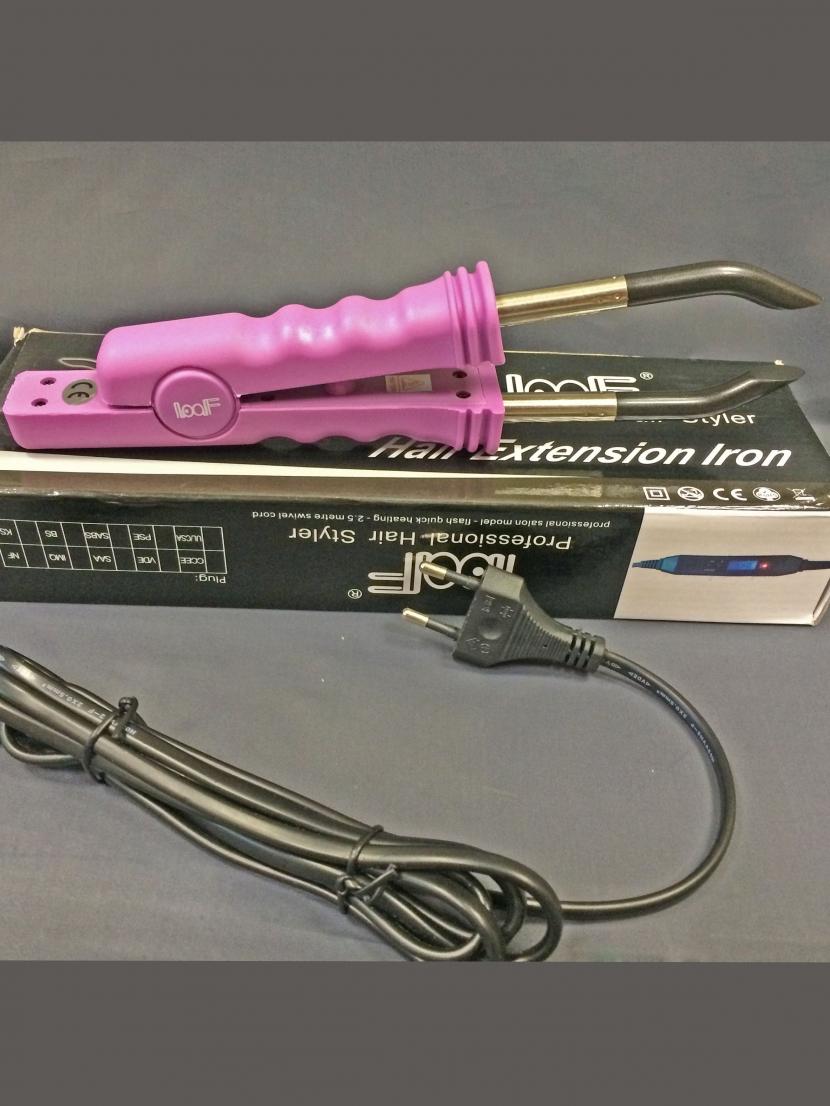 Профессиональные щипцы для наращивания волос Loof с термостатом