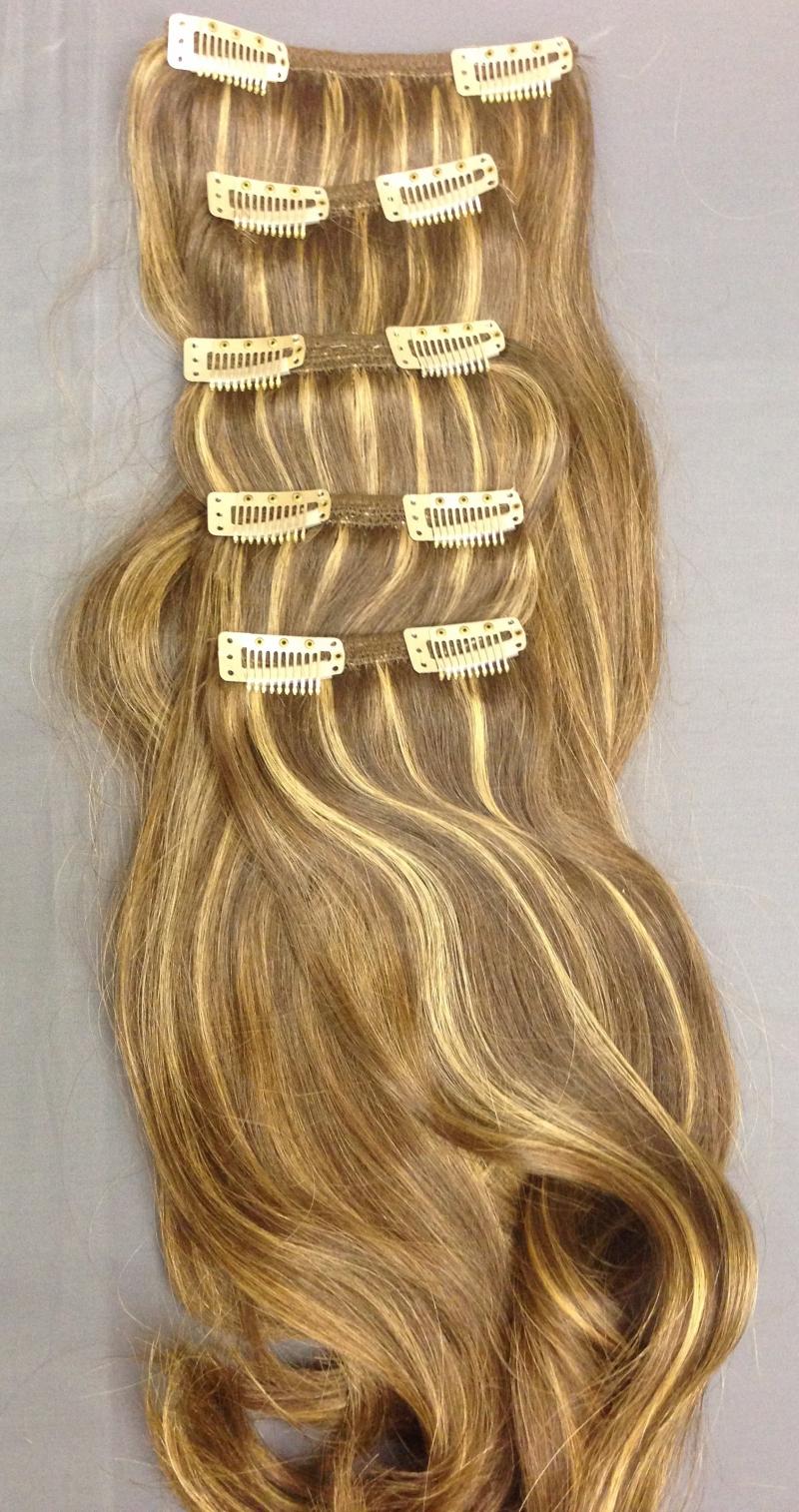 Прически с волосами на клипсах фото